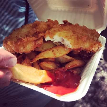 The Frying Scotsman: Large Cod & Chips