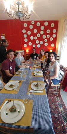 Cook With Us in Rome: Dining with our new friends