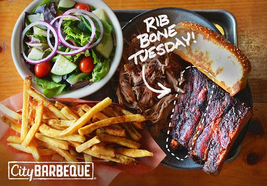 Deerfield, IL: Ribs by the bone are 40% off, every Tuesday.