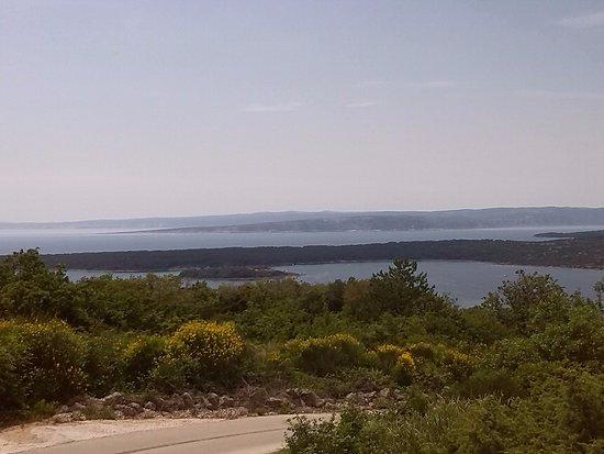 Kvarner-Bucht, Kroatien: Blick von Krk nach Westen