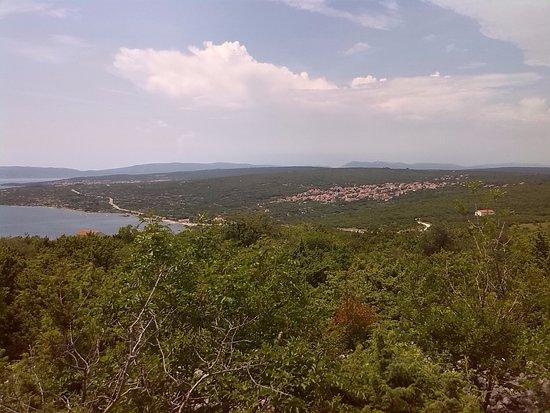Kvarner Bay Islands, Kroatia: Blick über die Insel Krk