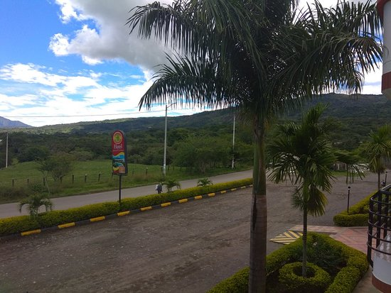 Hotel Balcones De La Pradera: Vista desde el balcón de la habitación.