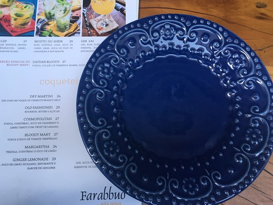 Farabbud: As louças são lindas