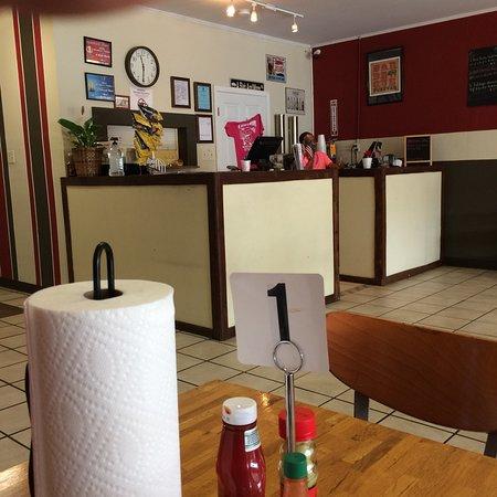 Demopolis, AL: Inside the restaurant