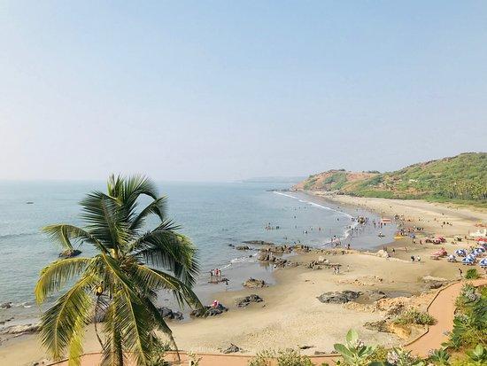 North Goa District, Indien: vagator beach