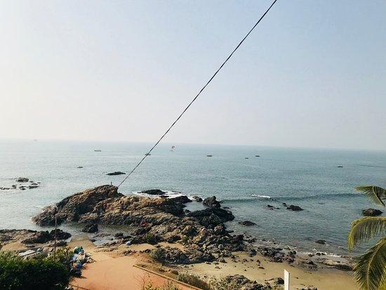 North Goa District, Indien: anjuna beach