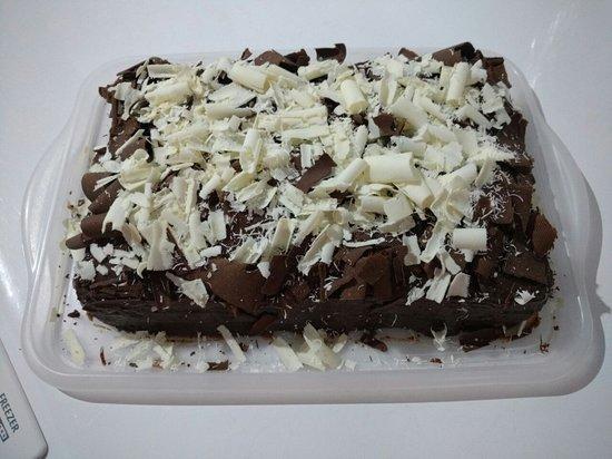 "Restaurante e lanchonete Ponto do Bolo: Torta ""Nega Maluca"""