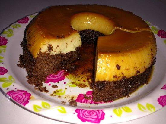 Restaurante e lanchonete Ponto do Bolo: Bolo Pudim, uma delícia.