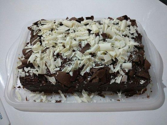 """Restaurante e lanchonete Ponto do Bolo: Uma das mais procuradas é a torta """"Nega Maluca""""."""