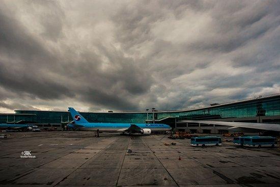 Korean Aircraft at the Incheon International Airport