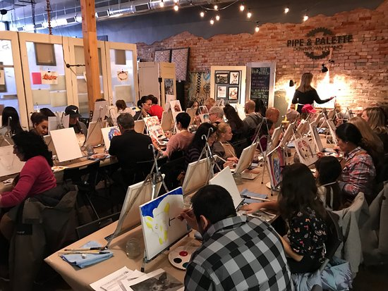 Plano, Teksas: Paint YOUR pet event on canvas