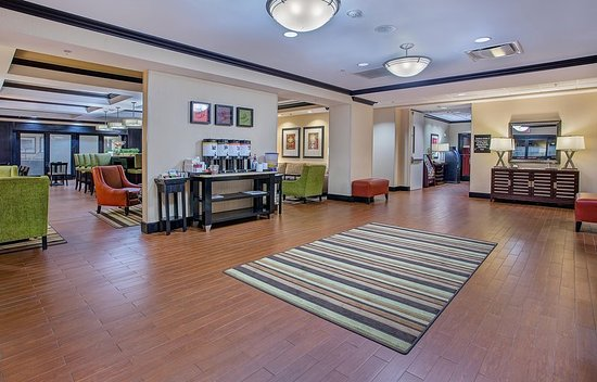 lobby picture of hampton inn covington covington. Black Bedroom Furniture Sets. Home Design Ideas