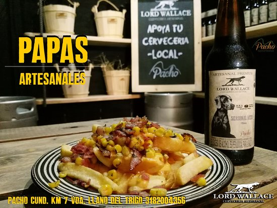 Pacho, Colombia: Algo diferente para picar y acompanar una de nuestras Cervezas Elaboradas con Pasion