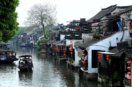 Private Zhujiajiao Water Town Boating...
