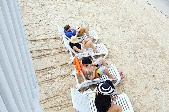 Excursión de día en un club de playa...