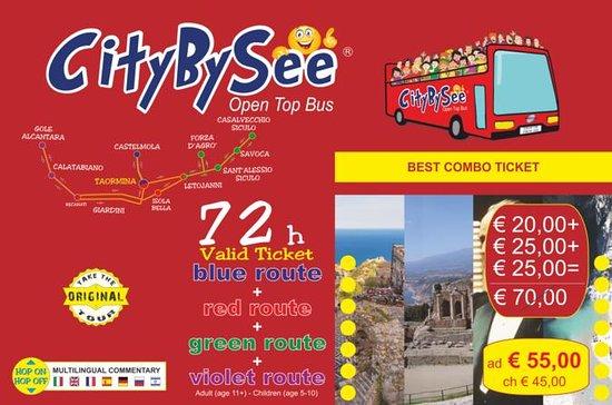 CityBySee Taormina&Alcantara Gorges&Go…