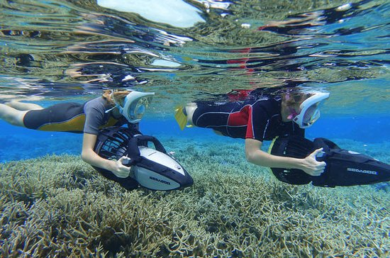 Moorea Seascooter Snorkeling Tour