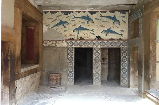 Admission fee for Knossos palace...