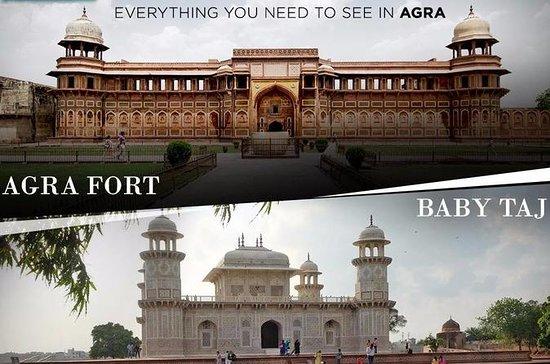 Excursão privada a Taj Mahal e a Agra...
