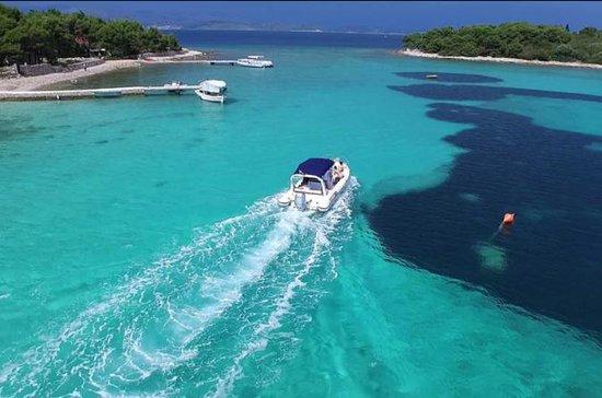 Blue lagoon island Solta et le tour...