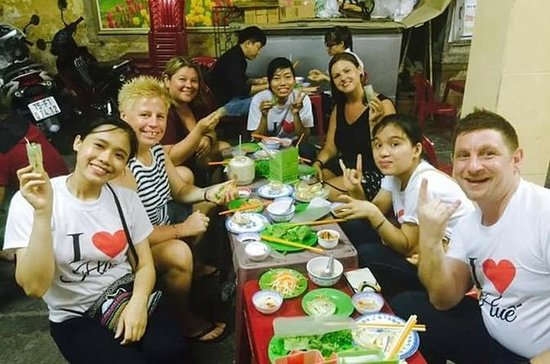 Hue street food tour by night - Hue...