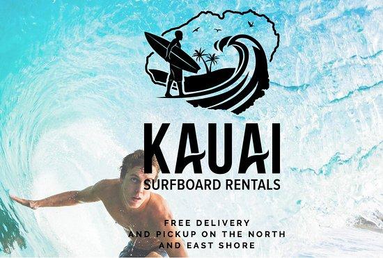 Hanalei, Hawái: Kauai Surfboard Rentals