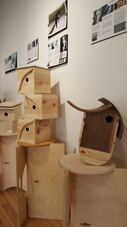Plains Art Museum: Nifty annual event/exhibit interpreting well known architectural styles as bird houses.
