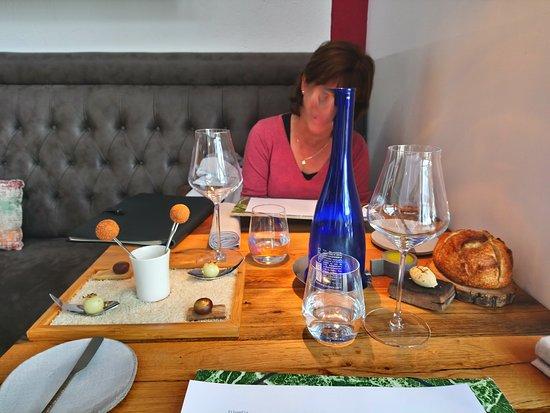 Belesta, França: belle table ...