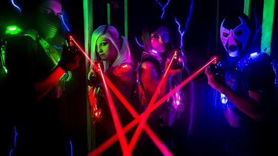 Superfun: lasergame