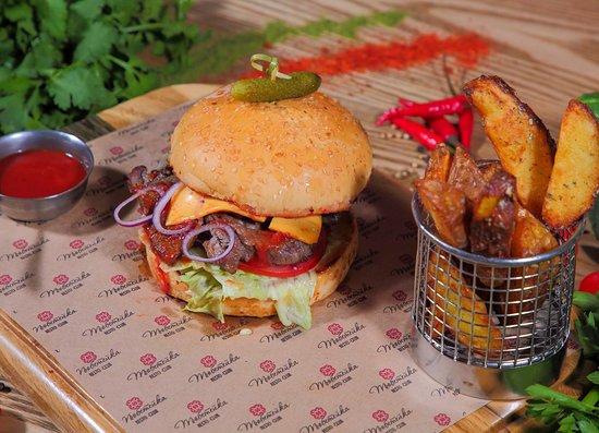 Tubeteika: Вкусные и очень сочные бургеры