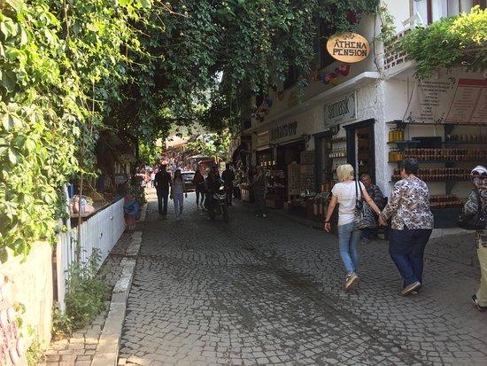 Cobble street of Sirince Village, Turkey