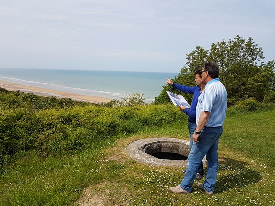 Litteau, Francia: Wn 60 East part of Omaha Beach