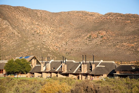 Aquila Private Game Reserve: View of the Luxury Family Cottages
