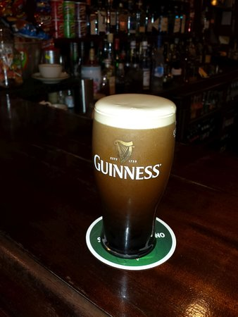 Kinnegad, Ireland: good drink - Guinness is good for you