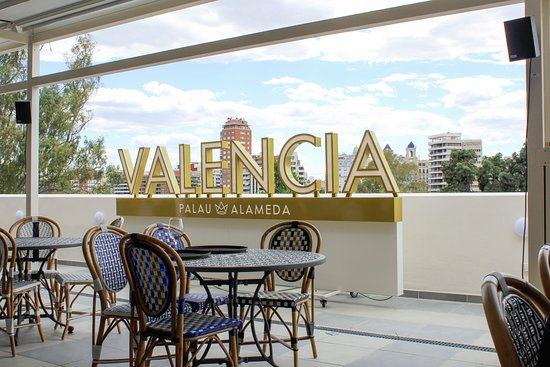 Terraza Tardeo Picture Of Palau Alameda Valencia