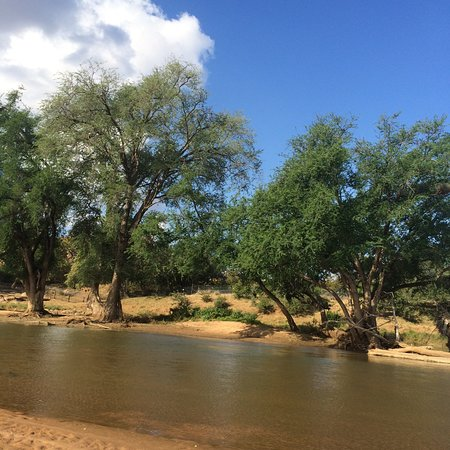 Northern Tuli Game Reserve, Botswana: Limpopo River