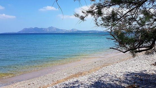 Formentor, Spanyol: plage de Pollença