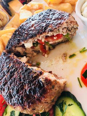 Mirthios, Grekland: Bifteki