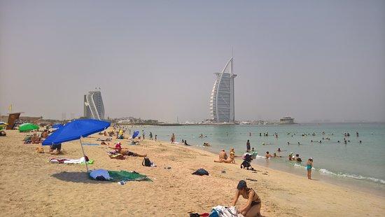 Пляж и парк Джумейры: Public-Beach Jumeirah Strand