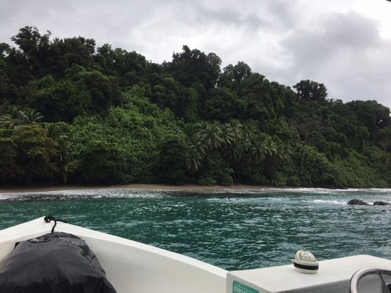 Drake Bay, Costa Rica: Arriving on Caño island