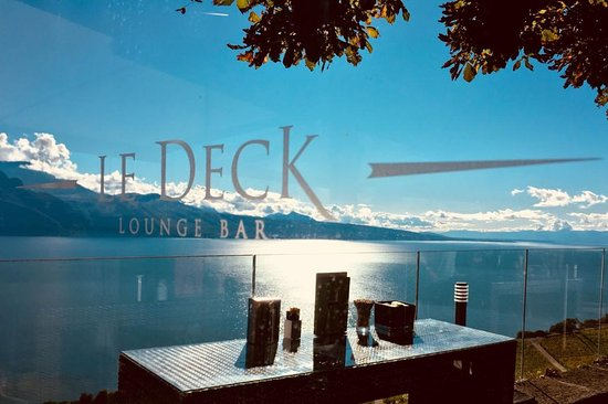 The Most Beautiful View On Lac Leman Review Of Restaurant Bar