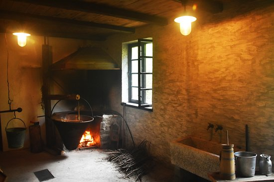 Kobarid, Slovenia: Cooking in little cottages of farmers in the local mountains in Soča valley