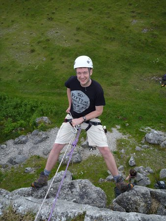 Kendal, UK: Stag Events. Abseiling Sessions in The Lake District.