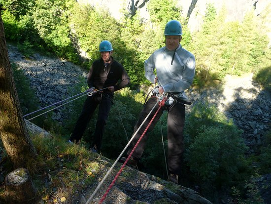 Kendal, UK: Abseiling Sessions in The Lake District.