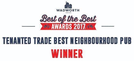 Rowde, UK: We are very proud to have won Wadworths Best Neighbourhood Pub award!