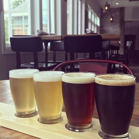 Annandale, NJ: Jersey Craft Beers dominate our taps:  choose 4 of your favorites for a 20 oz beer flight