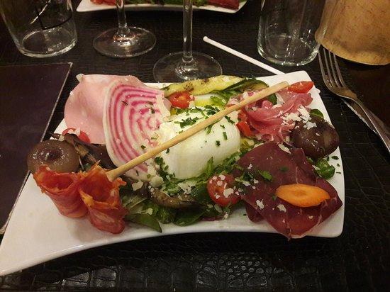 Carte Restaurant L Italien La Rochelle