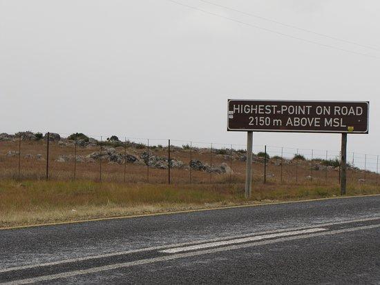 Lydenburg, แอฟริกาใต้: Highest point