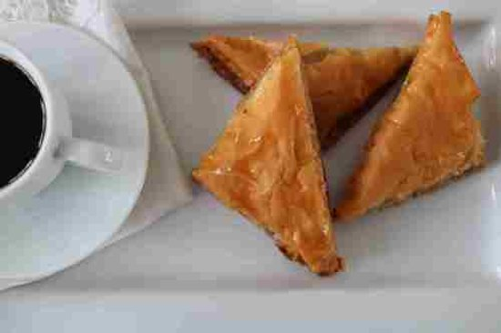 Selkirk, Canada: Ubuntu baklava - made with local honey, toasted walnuts and paper-thin phyllo and baked golden b