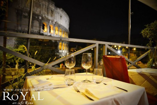 La Terrazza Picture Of Royal Art Cafe Rome Tripadvisor